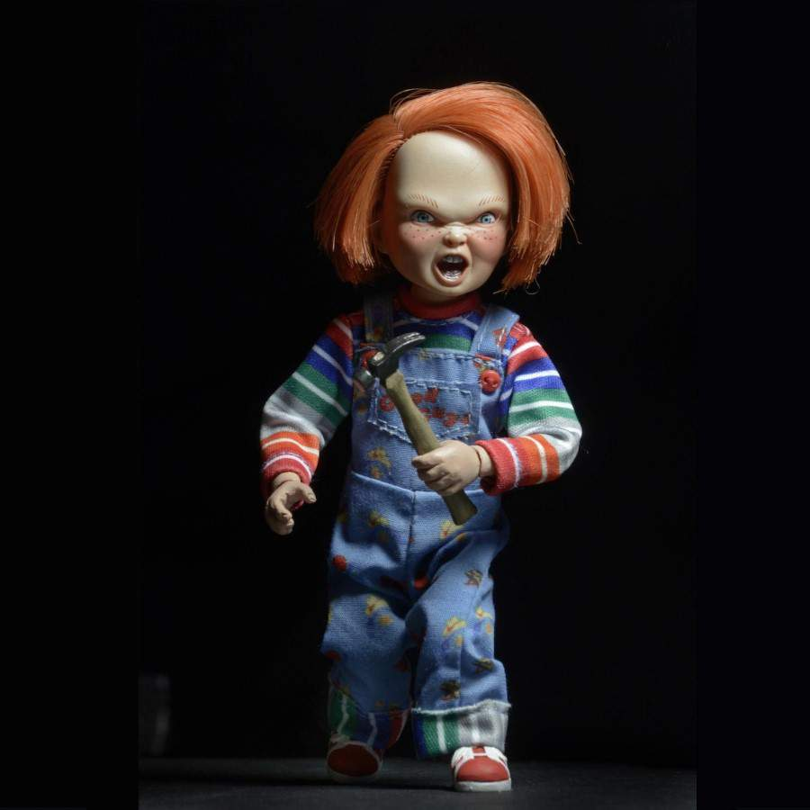 CHILDS PLAY CHUCKY 55 CLOTHED ACTION FIGURE
